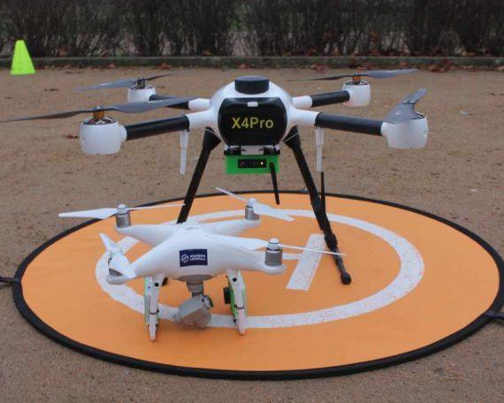 drony przeciw smogowi
