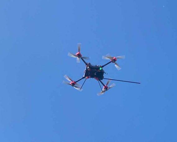 Dron i czujniki zbadają jakość powietrza